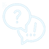 speech bubble help icon